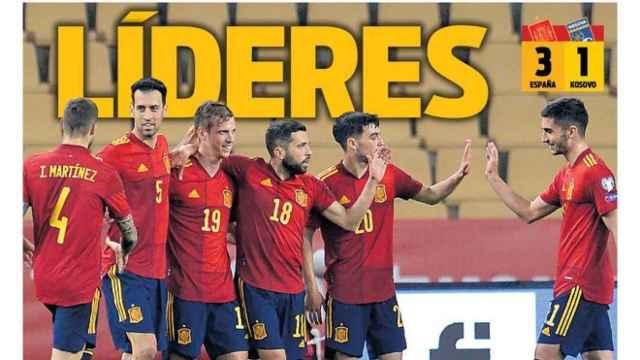 Portada Sport (01/04/21)