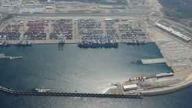 El puerto de Tánger.