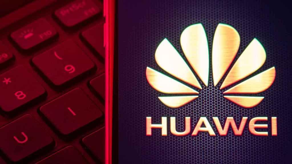 Emblema de Huawei.