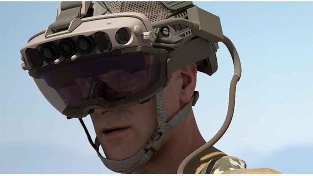Hololens 2 reforzadas bajo el programa IVAS del ejército.