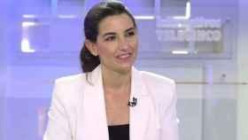 Rocío Monasterio durante su entrevista con Pedro Piqueras.