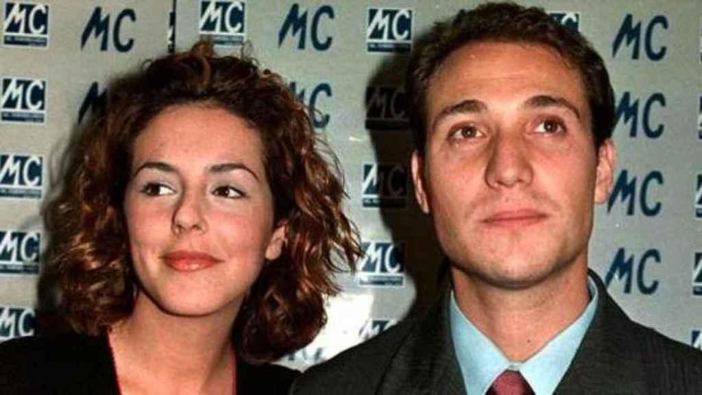 Rocío Carrasco y Antonio David Flores, en una imagen.