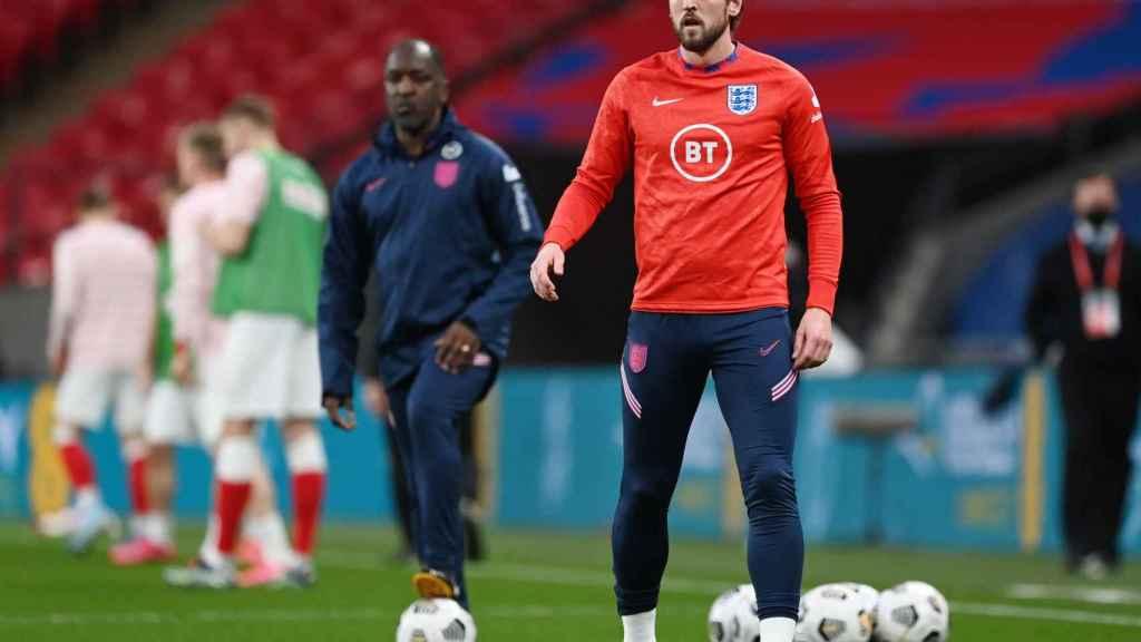 Harry Kane, con la selección de Inglaterra