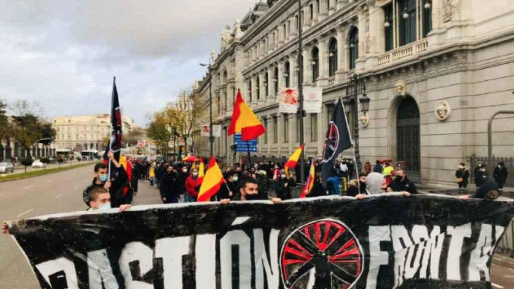 Manifestación de Bastión Frontal.