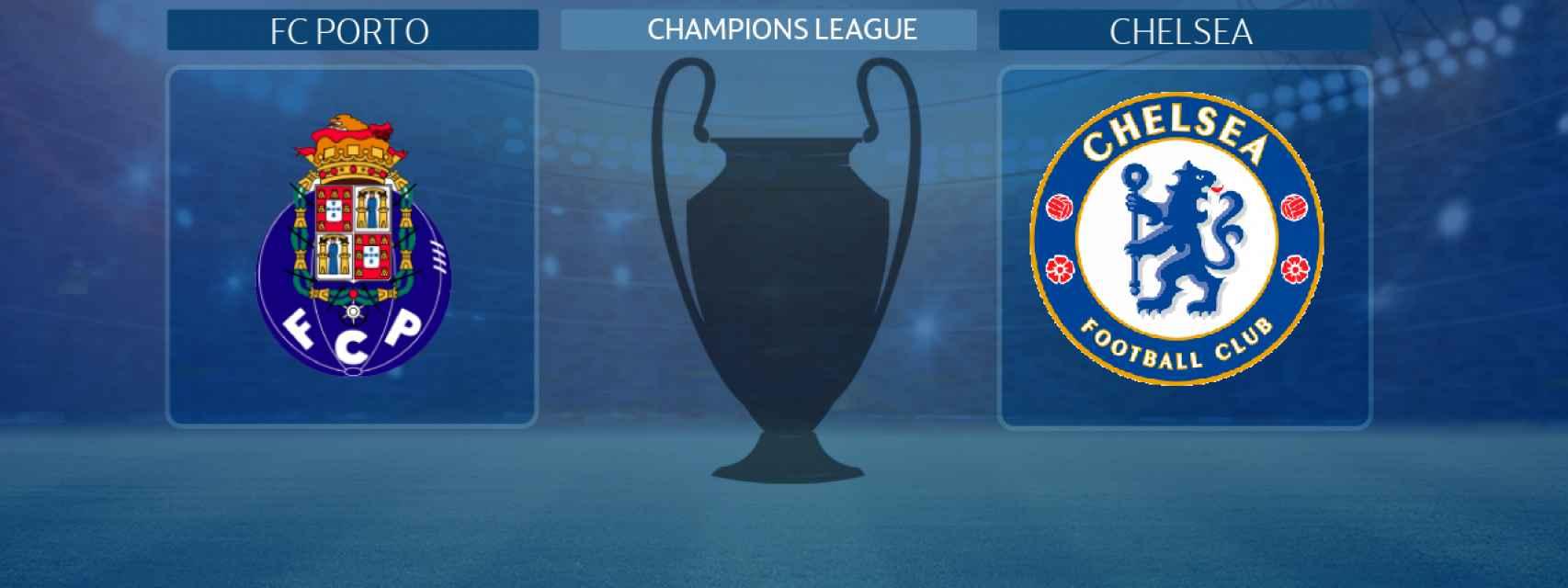Oporto - Chelsea, partido de la Champions League