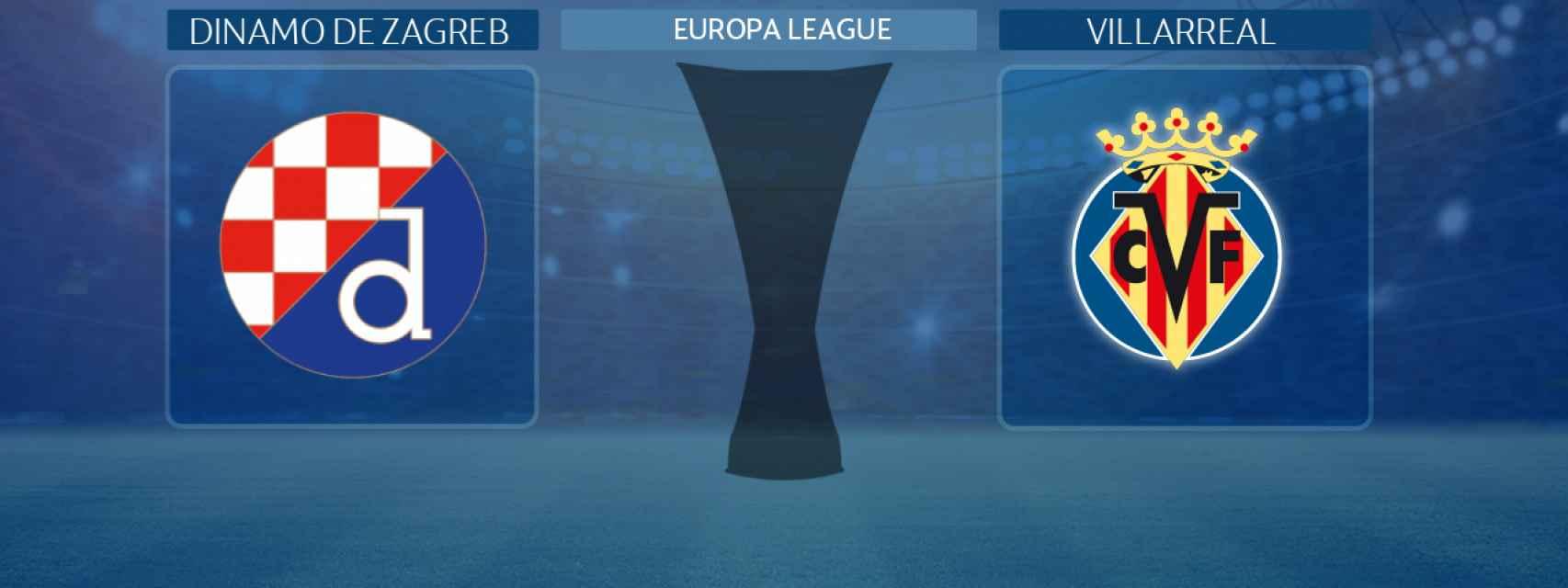Dinamo de Zagreb - Villarreal, partido de la Europa League