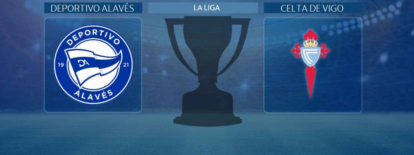 Deportivo Alavés - Celta de Vigo, partido de La Liga