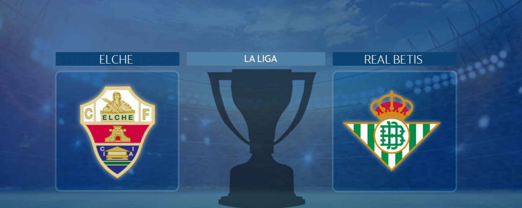 Elche - Real Betis, partido de La Liga