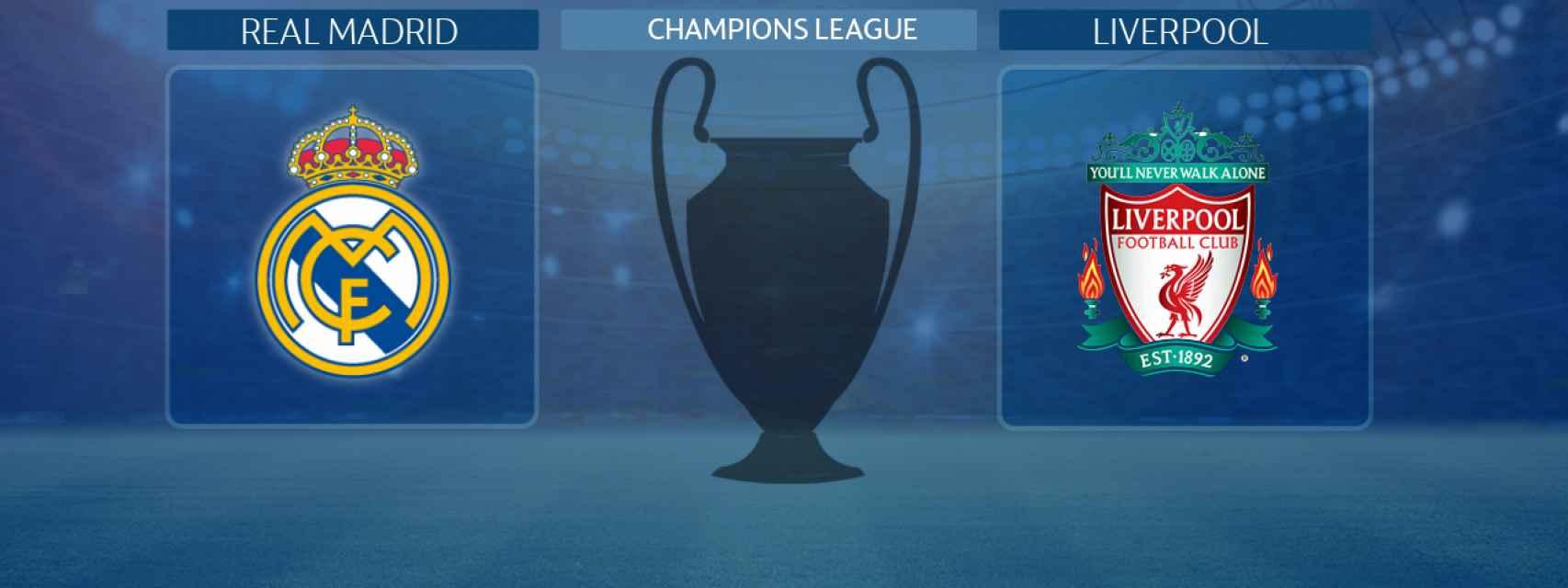 Real Madrid - Liverpool, partido de la Champions League