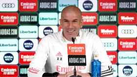 En directo | Rueda de prensa de Zidane previa al Real Madrid - Eibar de La Liga