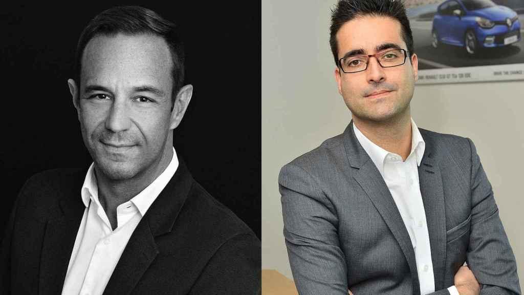 Sébastien Guigues y Francisco Hidalgo son los nuevos directores de Renault y Dacia en España.