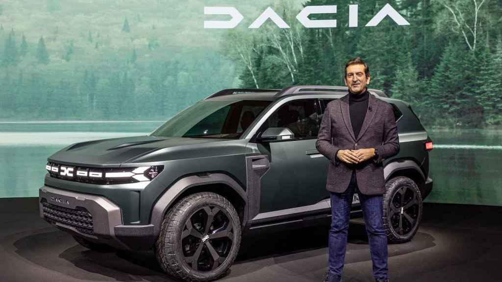 Alejandro Mesonero-Romanos (ex de Seat)es el nuevo diseñador de Dacia.
