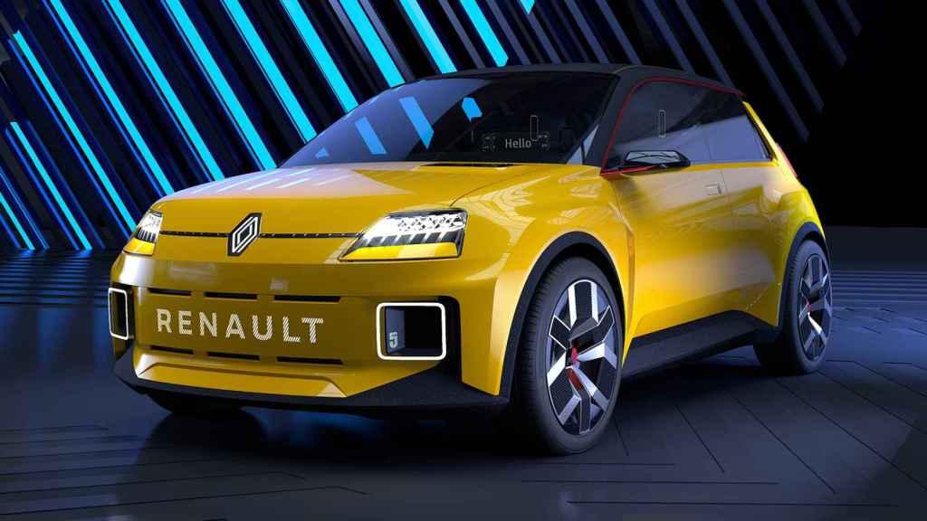 Prototipo que anticipa el próximo Renault 5.
