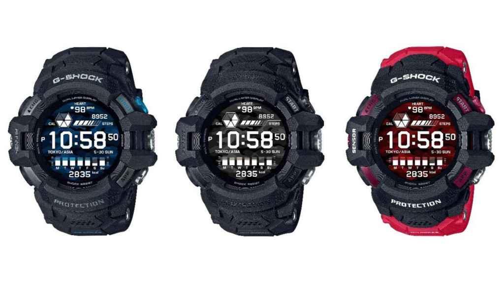 El nuevo Casio G-Shock estará disponible en tres colores