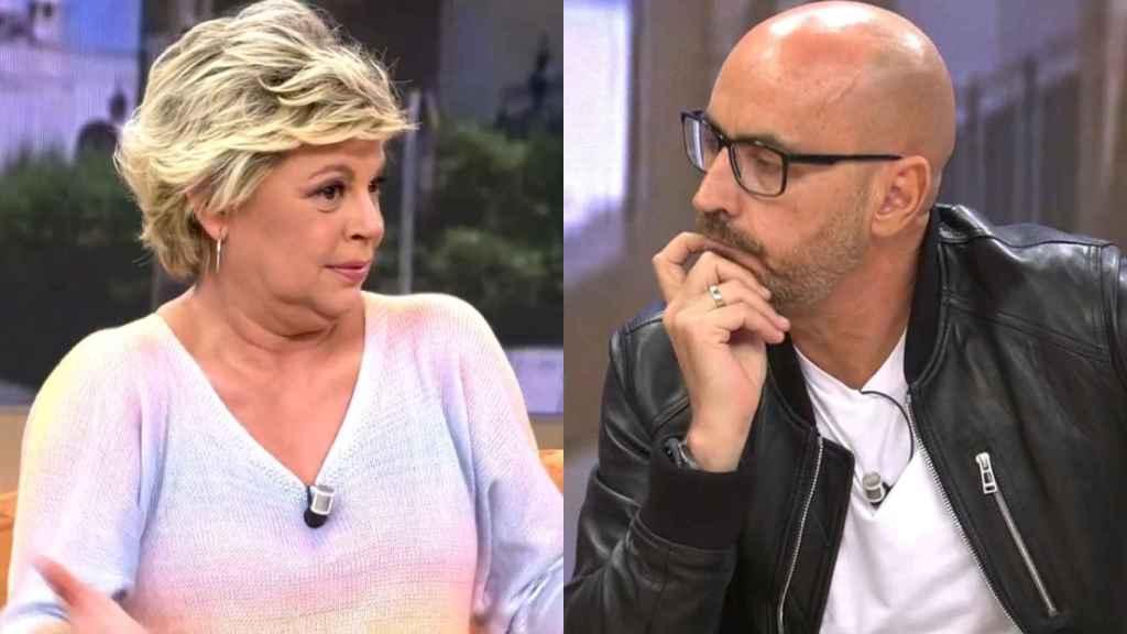 Terelu Campos y Diego Arrabal en 'Viva la vida'