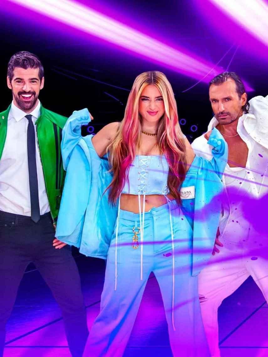 Miguel Ángel Muñoz, Lola Índigo y Rafa Méndez son los capitanes de 'The Dancer'.