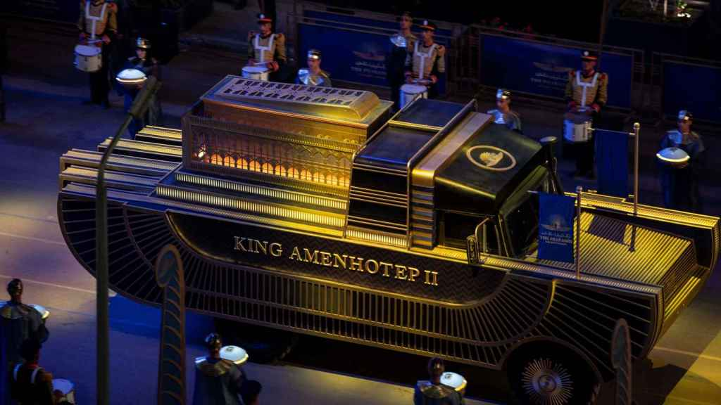 El carro del faraón Amenhotep II. El descubrimiento de su tumba en el Valle de los Reyes en 1898 fue un auténtico hito de la egiptología.