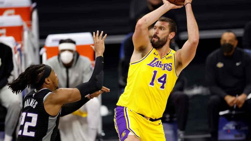 Marc Gasol, con los Lakers