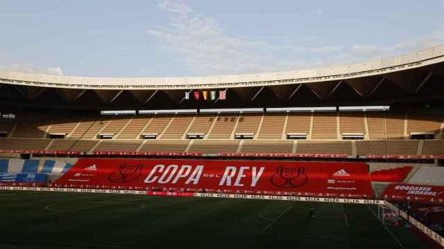 La Cartuja, antes de la final de la Copa del Rey 2019/2020