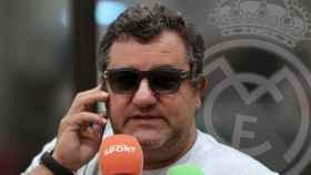 Mino Raiola y el Real Madrid