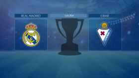 Streaming en directo | Real Madrid - Eibar (La Liga)