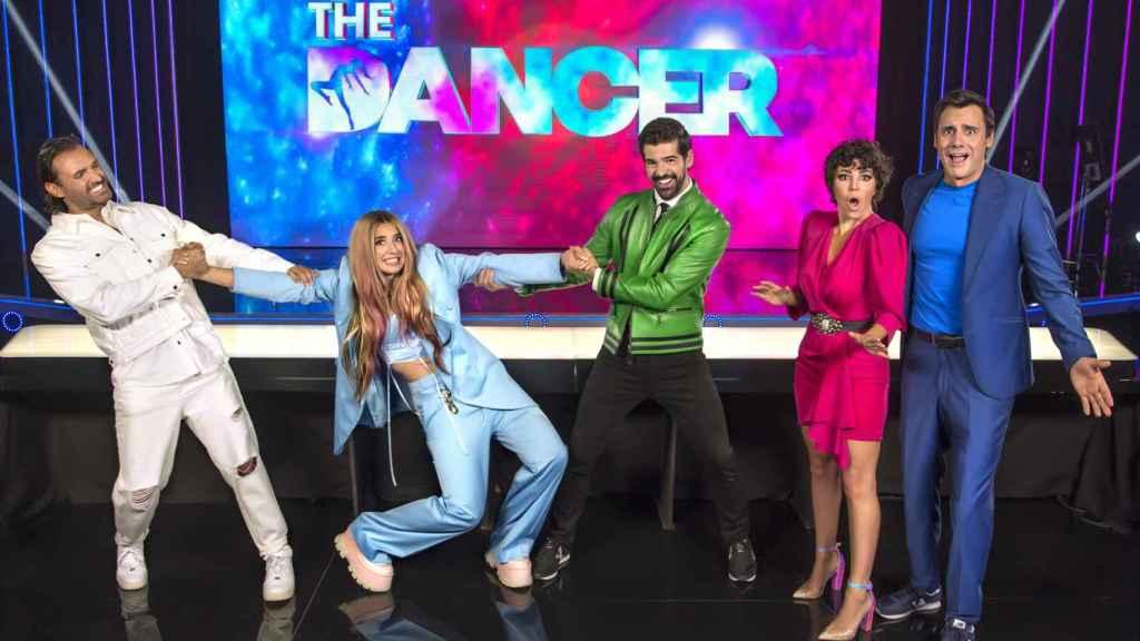 Capitanes y presentadores de 'The Dancer'