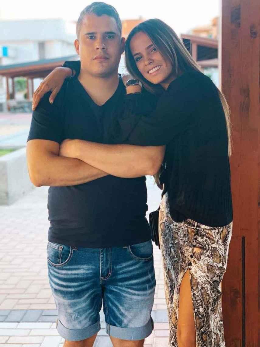 José Fernando y Gloria Camila, en una de sus imágenes más recientes.