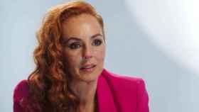Rocío Carrasco, en un momento de la docuserie que protagoniza.