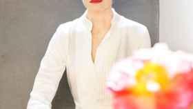 Antonia Dell'Atte, en una imagen de sus redes sociales, fotografiada por Víctor Cucart.
