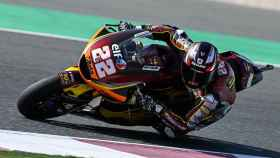Sam Lowes en la carrera de Moto2