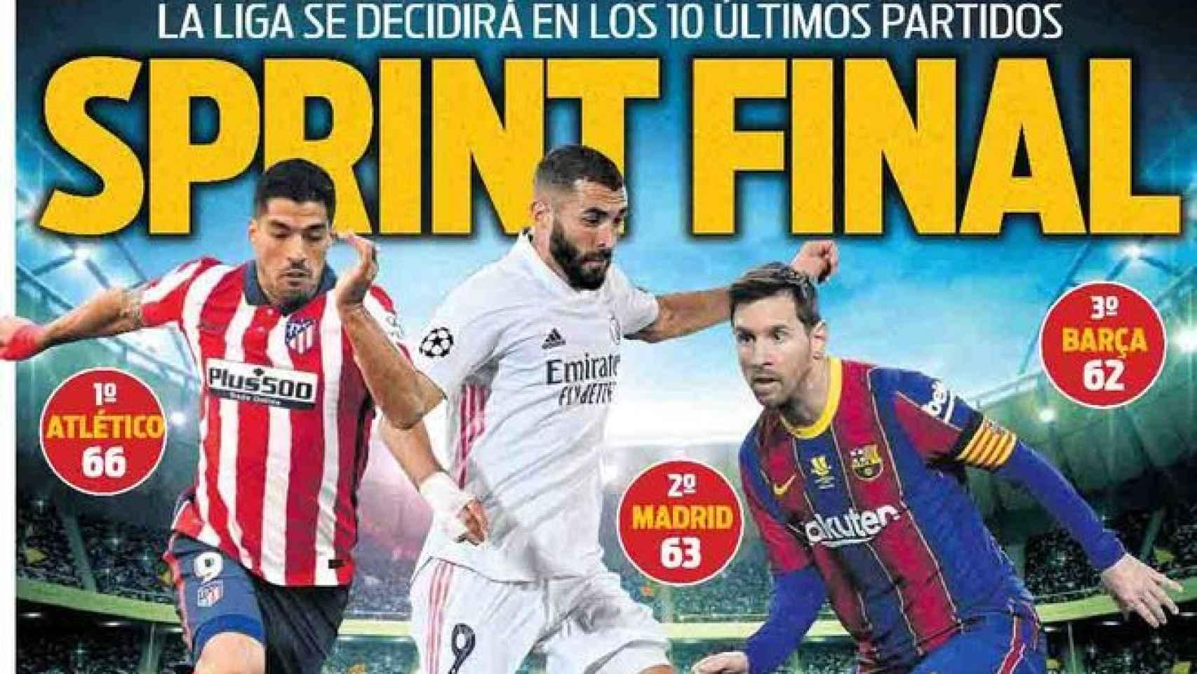 Portada Sport (04/04/21)