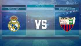 Streaming en directo | Real Madrid Castilla - Extremadura