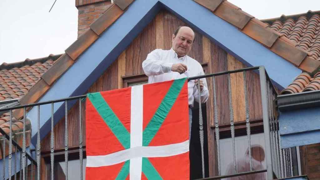 Andoni Ortuzar (PNV) en una imagen de archivo.