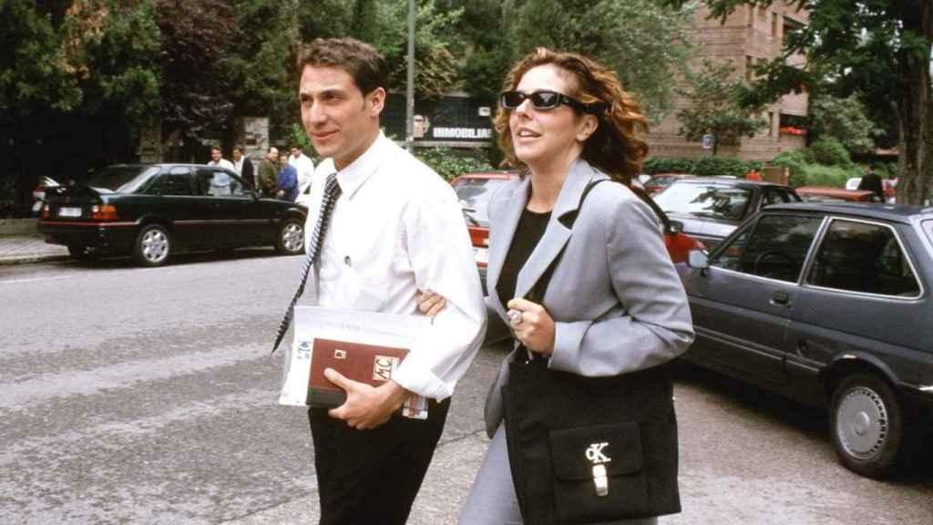Rocío Carrasco y Antonio David, justo antes de separarse.