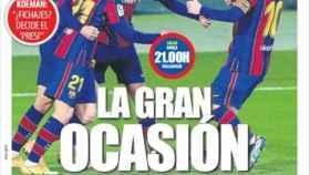 La portada del diario Mundo Deportivo (05/04/2021)