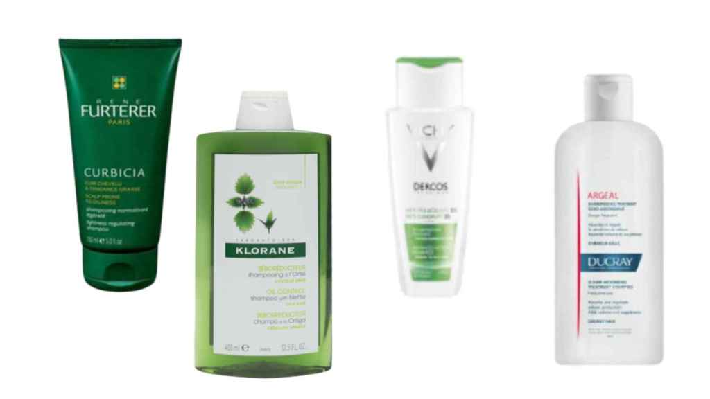 These shampoos are recommended for those with an oily scalp.