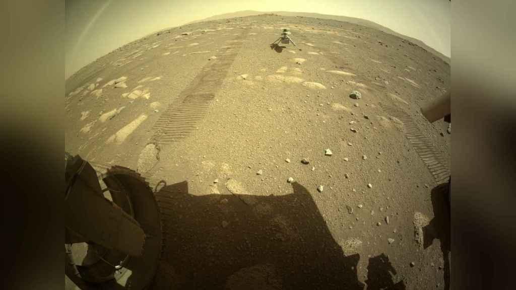 Fotografía de Marte, del Perseverance.