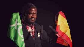 Bertrand Ndongo es de origen camerunés y fue asesor de Rocío Monasterio