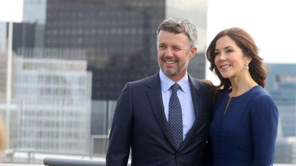 Federico de Dinamarca y su mujer, Mary Donaldson.