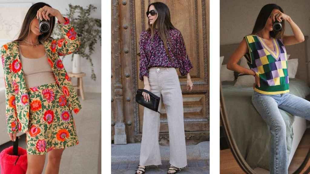 María F. Rubíes se suma las actuales tendencias con sus 'looks' más exclusivos.