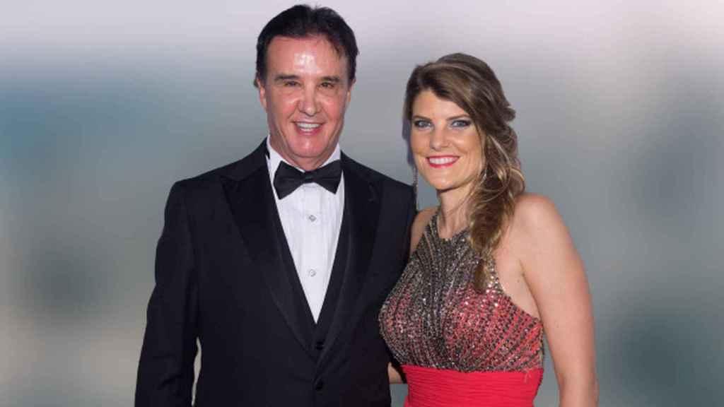 José Ramón de la Morena y su pareja Laura Vázquez en montaje de JALEOS.