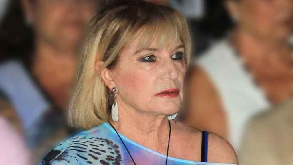 Gloria Mohedano durante un acto en Chipiona en una imagen de archivo.