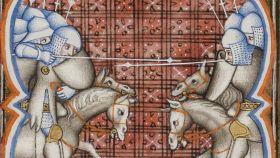 Batalla de Montsegur.