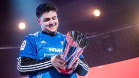 Adriman, tras ganar la eLaLiga Santander Cup