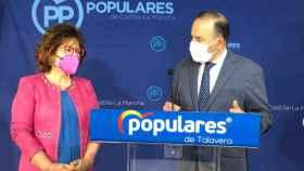 Riolobos y Gregorio en rueda de prensa