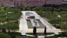 Parque del Oeste, en Madrid.