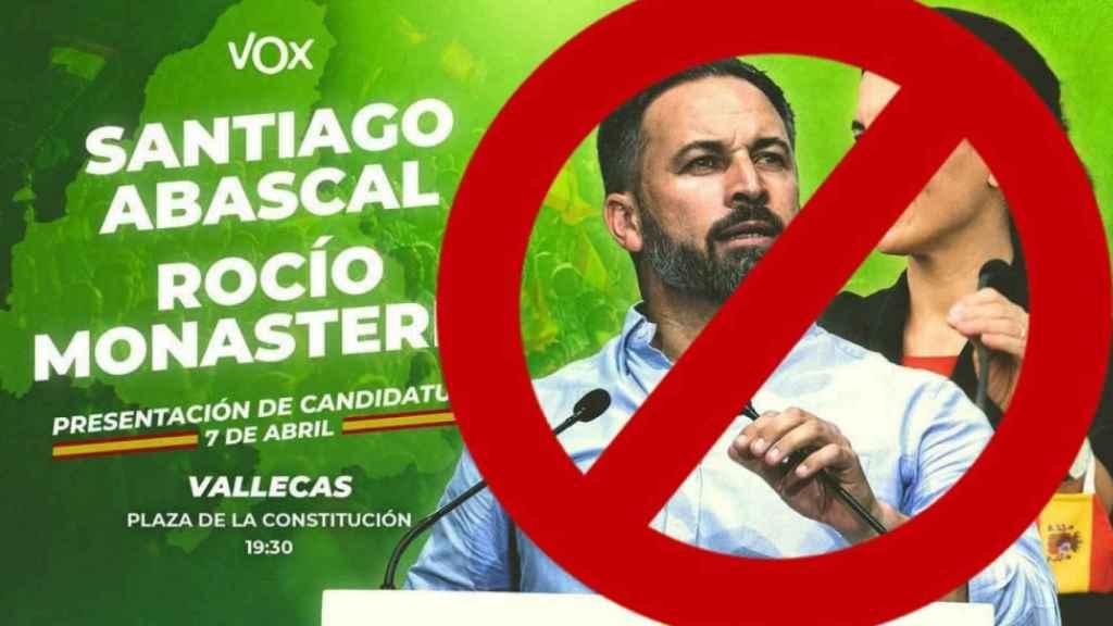 Mensaje difundido en redes sociales por el grupo VallekasAntifa.