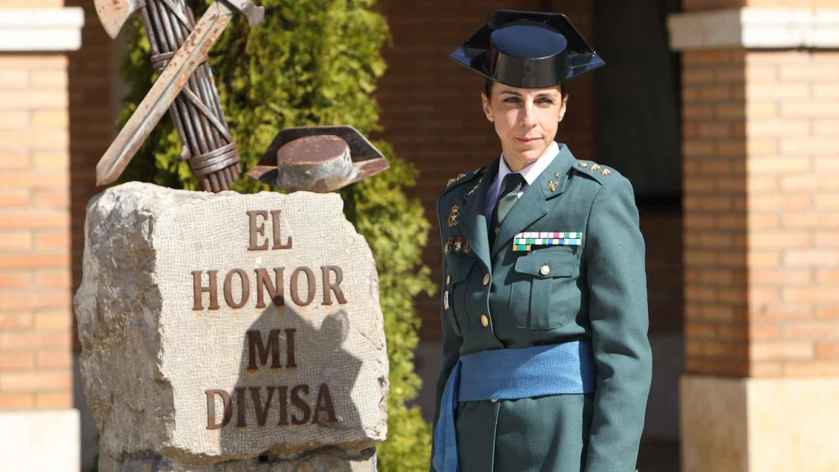 Silvia Gil es la cuarta mujer de la Guardia Civil en llegar a teniente coronel.