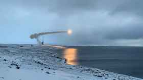 Una de las pruebas realizadas por Rusia en el Ártico.