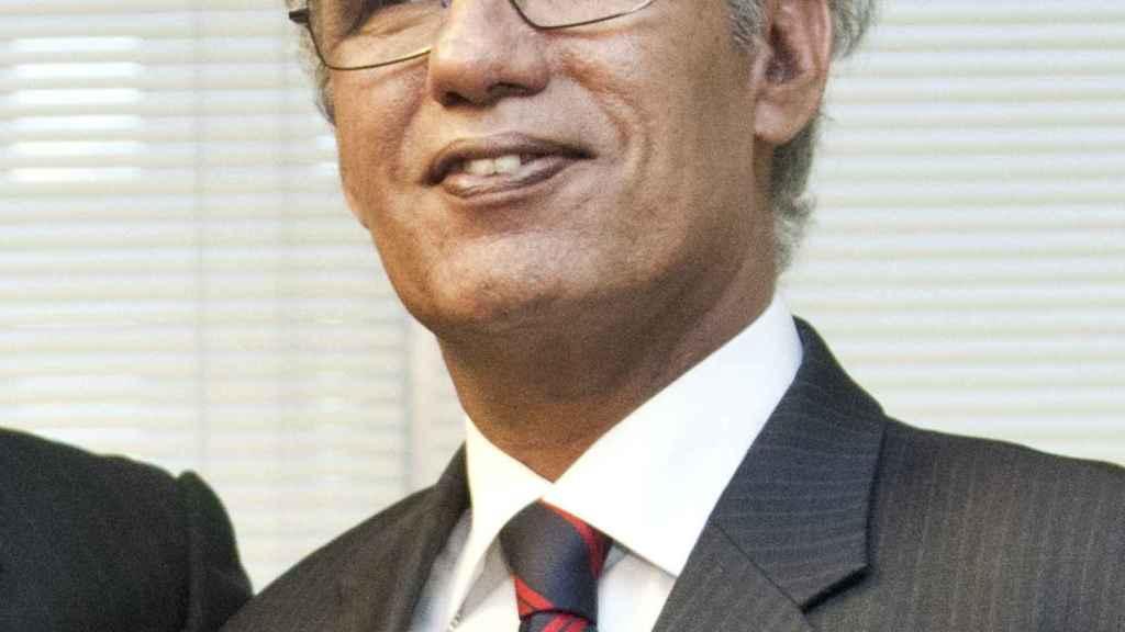 El ministro saharaui de Exteriores, Mohamed Salem Ould Salek.